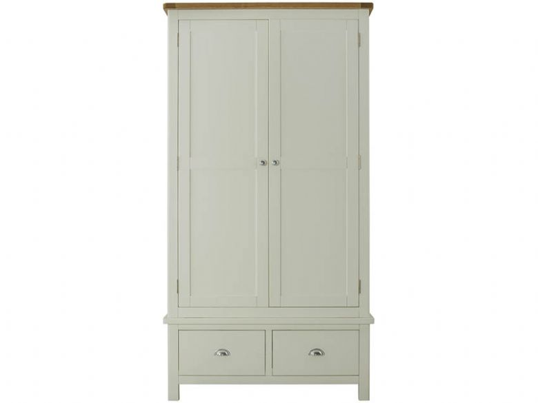 Hunningham Painted Gents Wardrobe Front