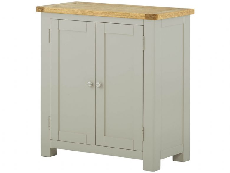 Hunningham modern painted 2 door cupboard