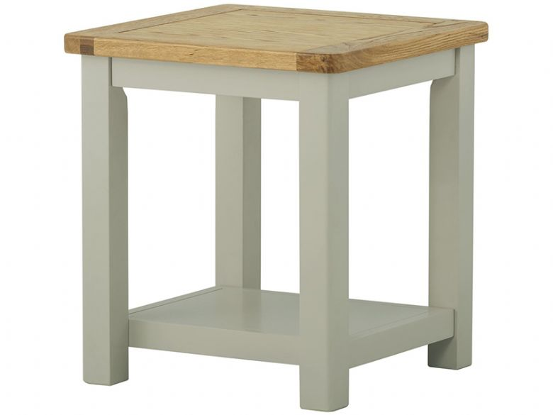 Hunningham modern painted lamp table