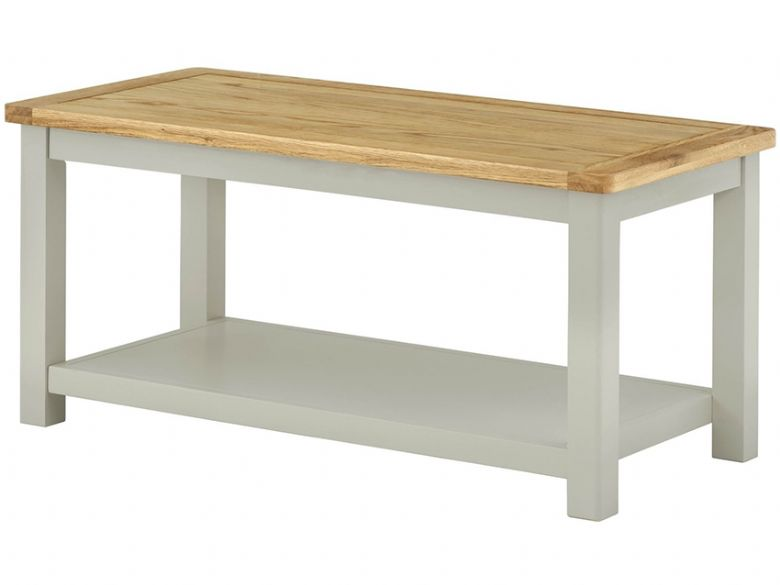 Hunningham modern painted coffee table