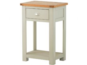 Painted 1 Drawer Console Table