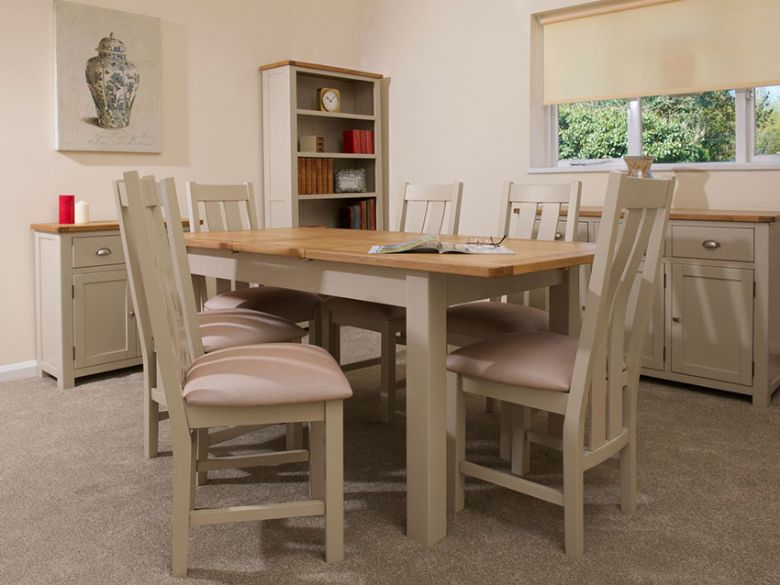 Hunningham modern painted dining collection