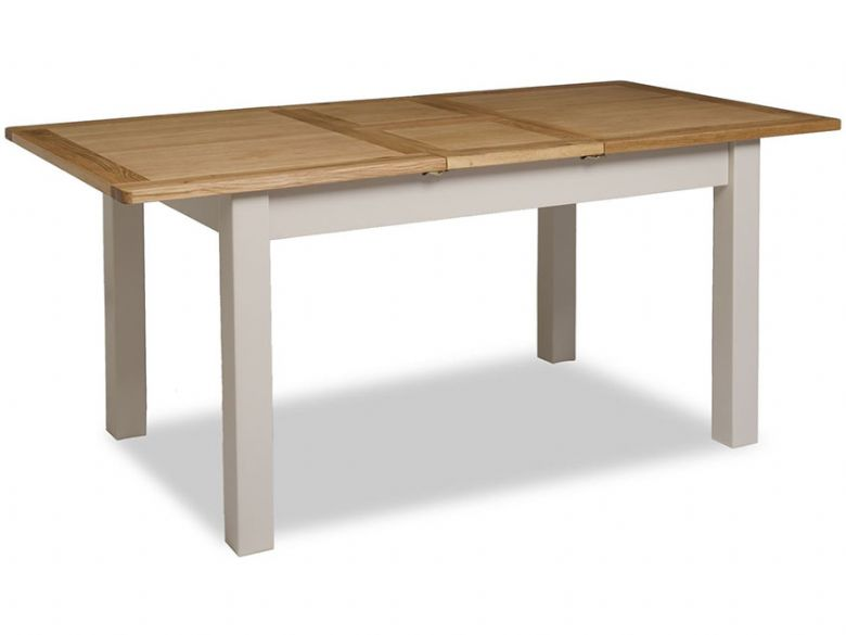 Hunningham modern painted 140cm dining table - fully extended