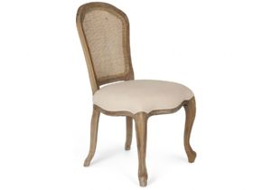 Oak Rattan Back Chair