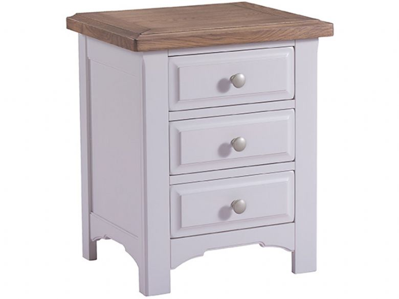 Farndon classic painted 3 drawer bedside