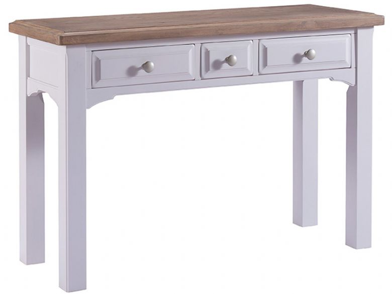 Painted 3 Drawer Dressing Table
