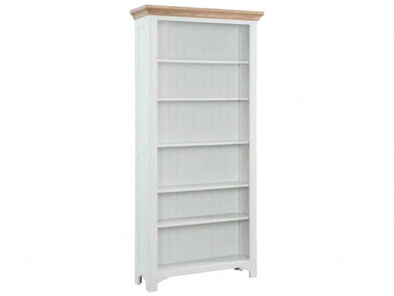 low dp bookcases bookcase padstow painted small