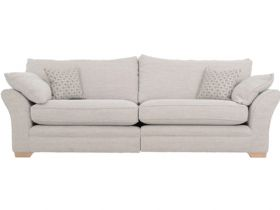 Cavan extra large split sofa in Tweed Multi