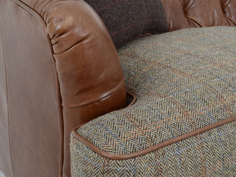 Tetrad Harris Tweed Dalmore Midi Sofa Lee Longlands