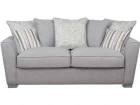 3 Seater Pillow Back Fabric Sofa