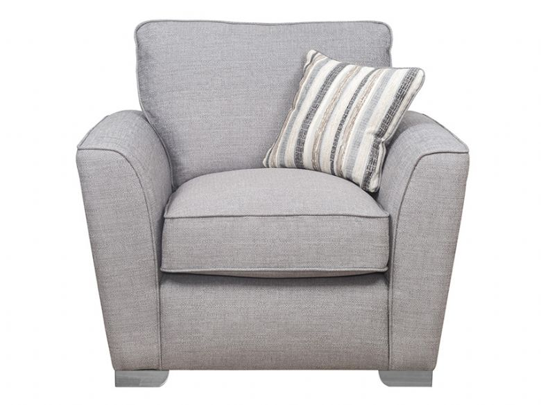 Reiko Pillow Back Fabric Chair