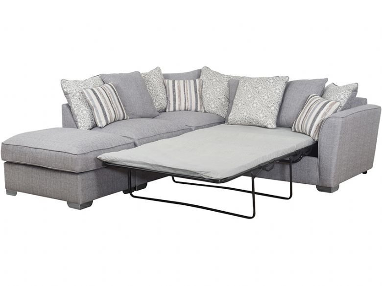Reiko Lhf Pillow Back Fabric Corner Sofa Bed Lee Longlands