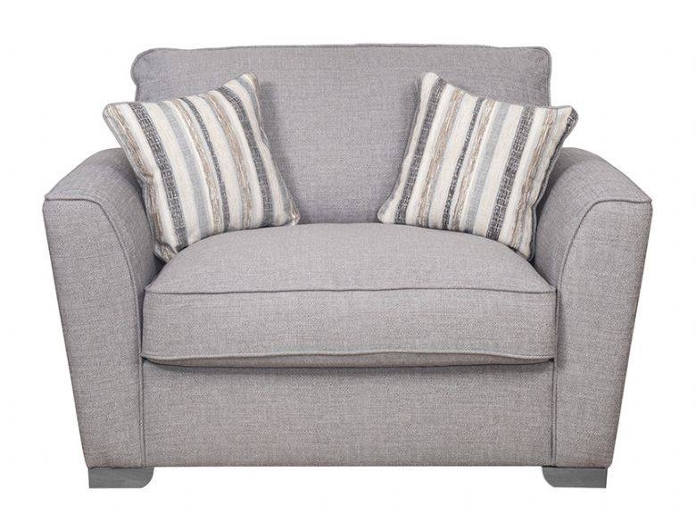 Reiko Fabric Love Chair Sofa Bed