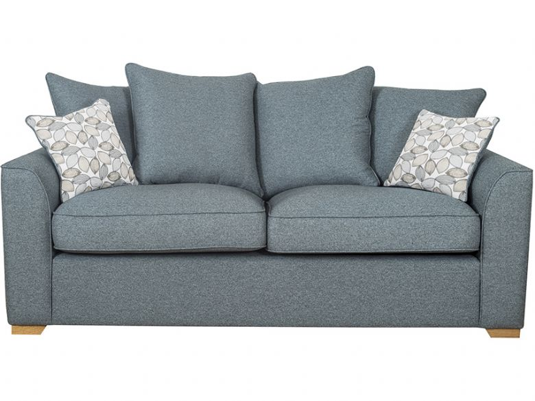 Carney 3 seater fabric sofa
