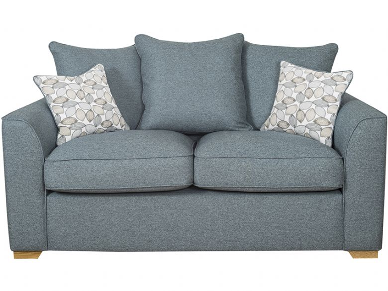 Carney 2 Seater fabric pillow back sofa