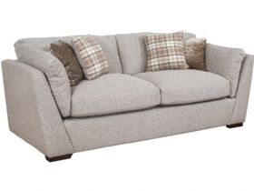 Rheta 3 seater fabric sofa