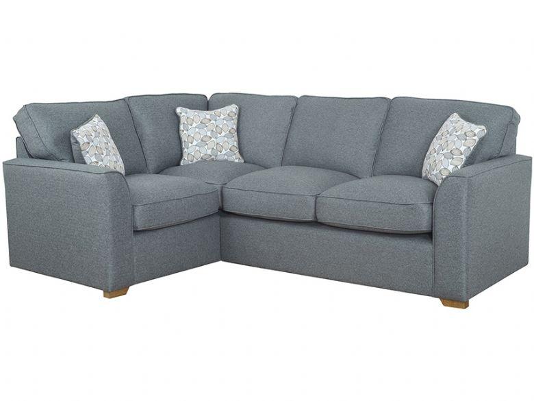 Carney LHF Fabric Corner Sofa - Lee Longlands