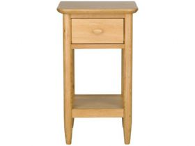 Oak Compact Side Table