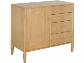 Oak Small Sideboard