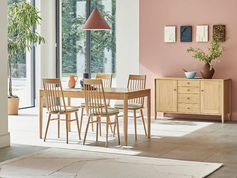 Ercol Askett dining furniture 2 man White Glove delivery service