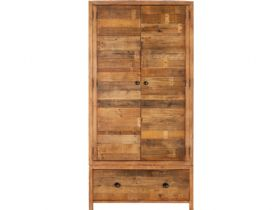 Reclaimed 2 Door Wardrobe