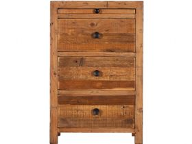 Halsey Reclaimed 3 Drawer Bedside