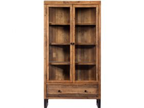 Halsey reclaimed display cabinet