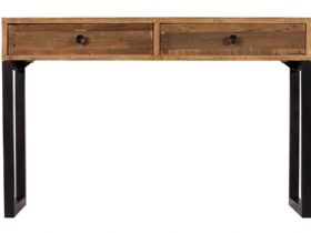 Reclaimed 2 Drawer Console Table