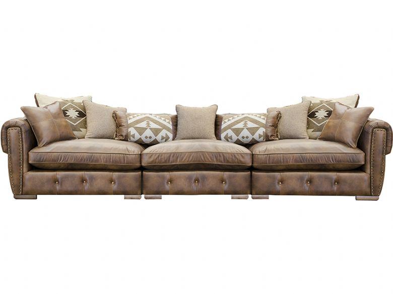 Wilson Extra Large Leather Sofa
