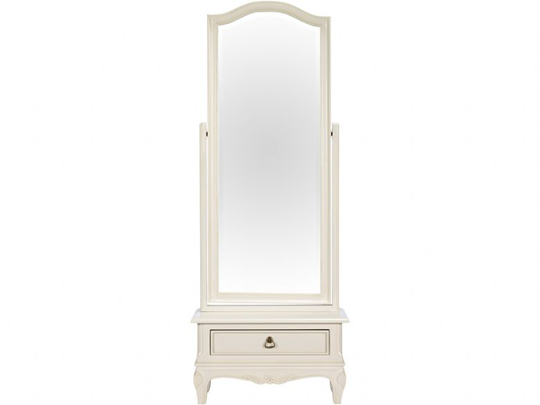 Cheval Mirror with 1 Drawer