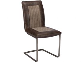 Retro Brown Dining Chair