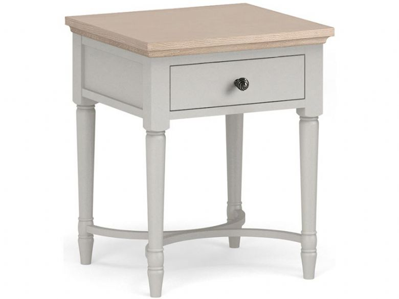 Cleveland painted lamp table with drawer