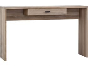 Modern Oak Console Table With Drawer