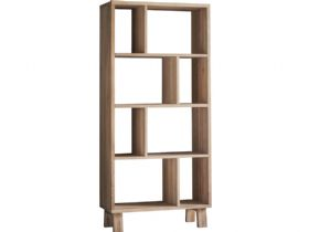 Modern Oak Display Cabinet