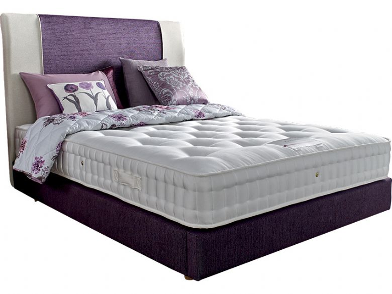 5'0 King Size Zip+Link Deep Divan Base & Mattress