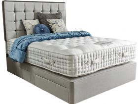 6'0 Super King Zip+Link Deep Divan Base & Mattress