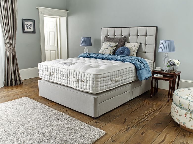 Ragley 20000  6'0 Super King Zip+Link Deep Divan Base & Mattress