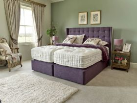 Trentham 25000 pocket spring divan and mattress