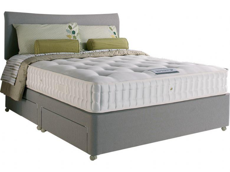 Brandon 3000 6 39 0 super king deep divan base mattress for Super king divan base