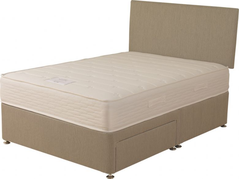 Primrose 4'6 Double Deep Divan Wheat