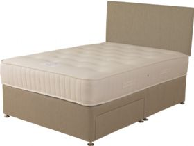 6'0 Super King Size Deep Divan & Mattress