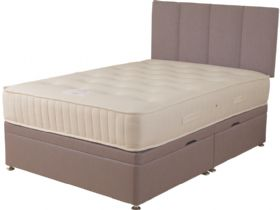 6'0 Super King Size Side Opening Ottoman & Mattress