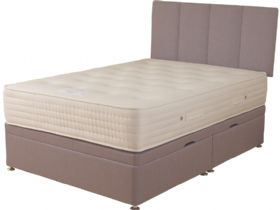 4'6 Double Side Opening Ottoman & Mattress