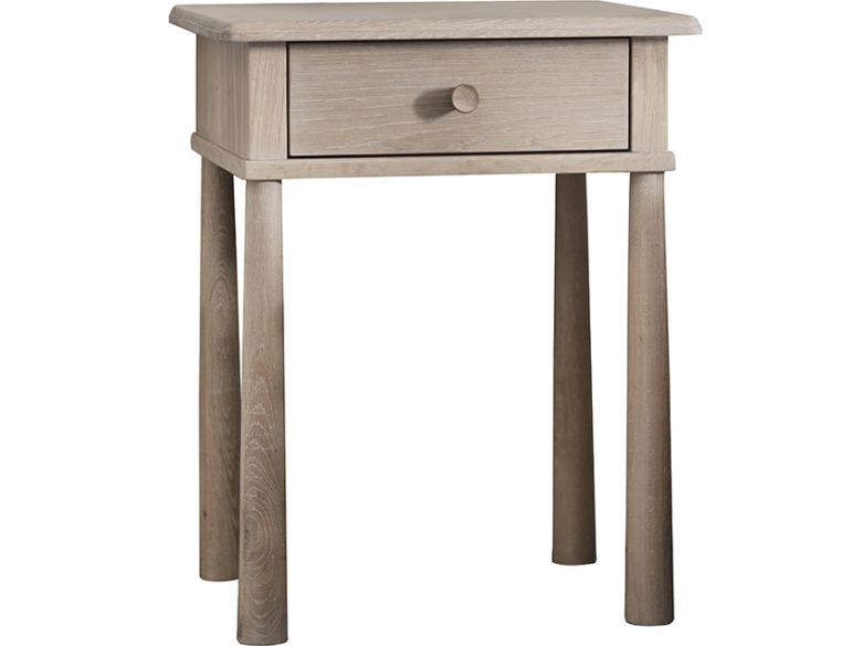Oak Bedside Table with 1 Drawer