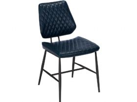 Massa Dark Blue Dining Chair available at Lee Longlands