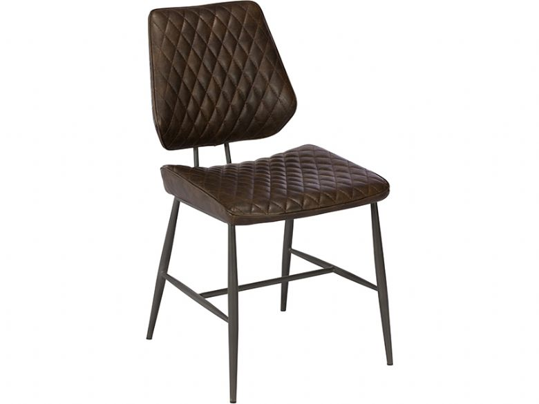 Massa Dark Brown Dining Chair available at Lee Longlands