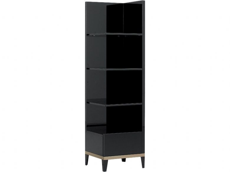 Exclua Right Facing Bookcase