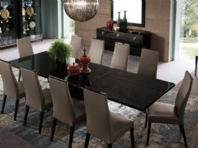 Exclua Large Extending Dining Table with Chairs