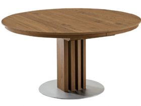 120cm Round Extending Dining Table
