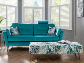 Lottie Modern Fabric Sofa Range